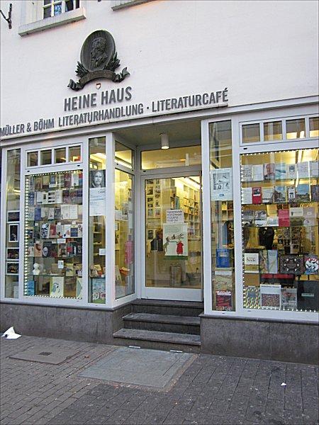 fleurs du mal bookstores heine haus d sseldorf. Black Bedroom Furniture Sets. Home Design Ideas